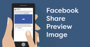 Display an image thumbnail when sharing your website on Facebook